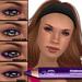 Wear it 4 ways! Flattery Cosmetics Eye Liner Pencil - Violet