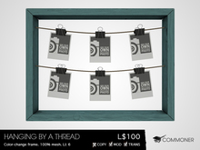 """[Commoner] """"Hanging By A Thread"""" Picture Frame"""