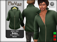 Eddy mesh vest ~ basic collection - Green