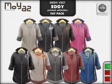 Eddy mesh vest ~ print collection - FATPACK 9 VESTS!!!