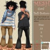 Wunderland - MESH Cord Bell-Buttom FATPACK