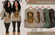 Wunderland - MESH Babushka Sweater FATPACK