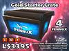 Fennux - Gold Starter Pack