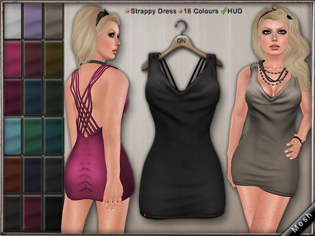 DN Mesh: Nightclub Dress w HUD