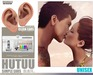 UNISEX[MANDALA]SIMPLE_EARS_HUTUU(Wear me to unpack)*
