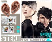 UNISEX[MANDALA]STEKING_ears_ver2 (wear me to unpack)