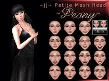 ~JJ~ Petite Head ~Peony~