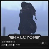 Halcyon - Breezeblock [25L IN WORLD]