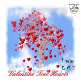 Valentine Tree Hearts