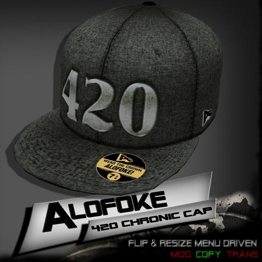 Alofoke!  -  420 Chronic Cap