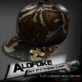 Alofoke!  -  NY Python Cap