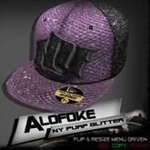 Alofoke!  -  NY Purp Glitter Cap