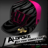 .:: Alofoke Designs ::. NY Pink Zebra Cap