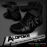 .:: Alofoke Designs ::. Kush Bandana Sneaker