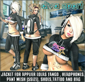 NS:: Diva Sport Outfit