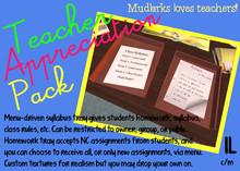 Teacher Appreciation Pack