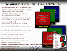 DA Advertisement Board Rental Adboard V.2.3