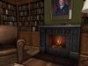 Dutchie mesh cast iron fireplace