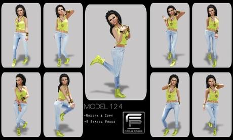 :: Focus Poses Model 124::
