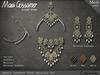 Necklace - Ananya Teardrop Necklace Set