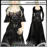 (PixelDolls) Lace . Ragged . dress
