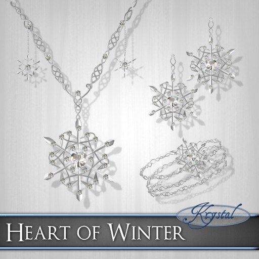 ::: Krystal ::: Heart of Winter - Platinum