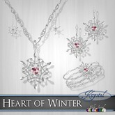 ::: Krystal ::: Heart of Winter - Platinum (MultiJewel)