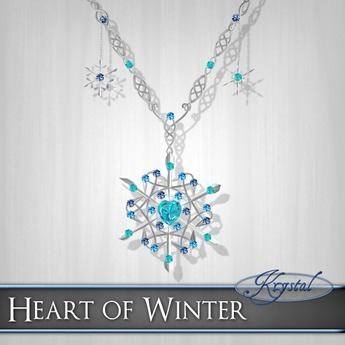::: Krystal ::: Heart of Winter - Necklace (What's New Intro)