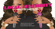 Plushberry ~ Local Celeb Microphone ~ PACK