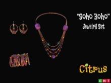 *Citrus* Soho Boho Jewelry Set 1