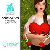 *MishMish* Holding Toy ANIMATION Full Perm[Boxed]
