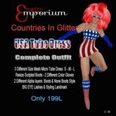 Empire Bag  - County In Glitter Dress USA