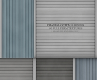 Coastal Cottage Siding { 90 seamless & shaded textures in different styles }