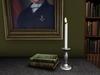 Dutchie silver mesh candlestick