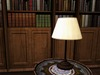 Mesh lamp mesh table lamp dark