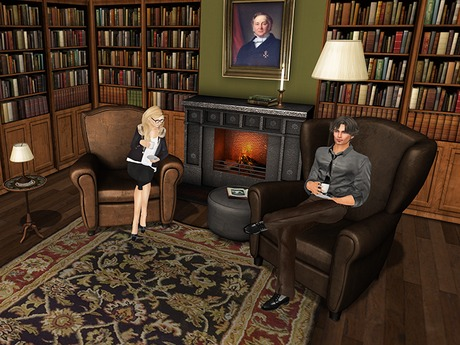 Dutchie mesh club chairs: each 20 solo animations, 10 for female and 10 for male avatars