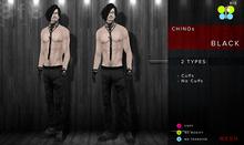 BLACK Chinos