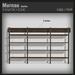 :FANATIK HOME: Shelve MURNAU - mesh wall shelf