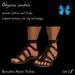 Odysseus sandals