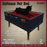Suitcase Pet Bed by Vavoom! - Supplies for Virtual Kennel Club (VKC®) Pets - No Training Required