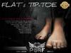 PURF - MESH BARE FOOT | FLAT & TIP - TOE VERSION | HUD CONTROL [BOX]