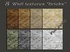 Pack 8 wall textures bricks (1024x1024)