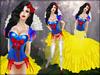 Boudoir -Snow White Dress