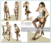 Frozen - Against the Wall poses