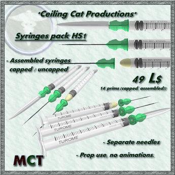 *CCP* syringe 10ml set