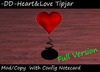 Heart&Love Tipjar with Config Notecard for Clubs ( Fullversion Tip Jar )