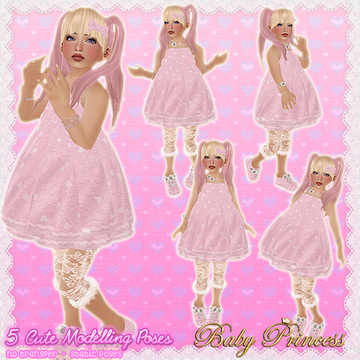 Second Life Marketplace Baby Cute Modelling Poses