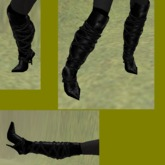 Boots Black GIFT