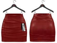 Maitreya Mini Skirt * Vivid Leather Lust