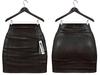 Maitreya Mini Skirt * Dark Leather Eternity